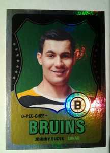 2010-11 O-Pee-Chee Rainbow Johnny Bucyk #565