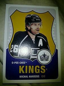 2010-11 O-Pee-Chee Retro Michal Handzus card #81