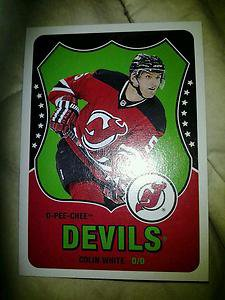 2010-11 O-Pee-Chee Retro Colin White card #57