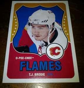2010-11 O-Pee-Chee Retro T.J. Brodie card no. 540