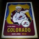 2010-11 O-Pee-Chee Retro David Jones card no. 231