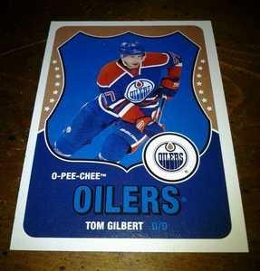 2010-11 O-Pee-Chee Retro Tom Gilbert card no. 218