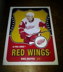 2010-11 O-Pee-Chee Retro Kris Draper card no. 214