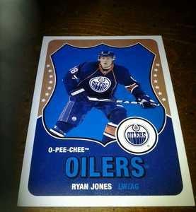 2010-11 O-Pee-Chee Retro Ryan Jones card no. 146