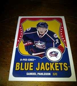 2010-11 O-Pee-Chee Retro Samuel Pahlsson card no. 144