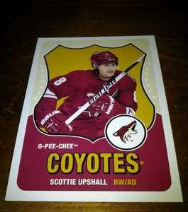 2010-11 O-Pee-Chee Retro Scottie Upshall card no. 110