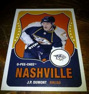 2010-11 O-Pee-Chee Retro J.P. Dumont card no. 102