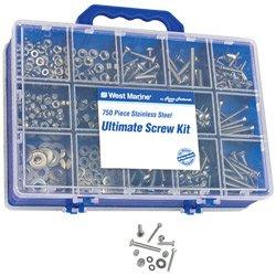 750 Piece Stainless Steel Screw kit