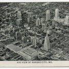 Vintage Black & White Pocket Photo of Kansas City, Missouri circa 1940