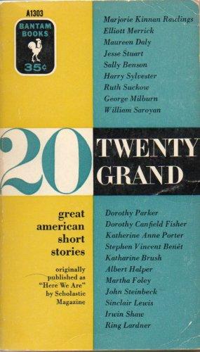 Twenty Grand Great American Short Stories Vintage Bantom Book