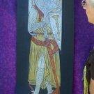 FAMOUS BRASS RUBBING, HERALDIC KNIGHT,English Lord 1289