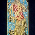 BRASS RUBBING KING EDWARD III ROYALTY GENEALOGY ART