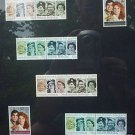 British Stamps for English Royal Wedding & HRH 60th