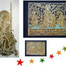 ANNUNCIATION, MADONNA & CHILD BRASS RUBBING, RELIGIOUS