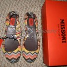 MISSONI for Target Venetian Zig-Zag Slip-On Ballet Flat Shoes Girls Size 3 BNIB