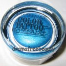 Maybelline COLOR TATTOO 24 Hour Cream Gel Eye Shadow #40 *TENACIOUS TEAL* Sealed