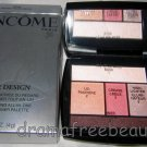 Lancome Color Design *ROSE ROMANCE* Eye Brightening 5 Shadow & Liner Palette NIB