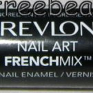 Revlon Nail Art FRENCH MIX Nail Polish Duo *OVER THE MOON* Teal Pink Shimmer BN