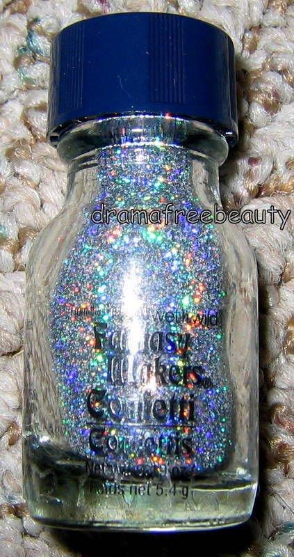 Wet n Wild Fantasy Makers *Holographic Holo Nail/Body Glitter* Confetti in GLITZ