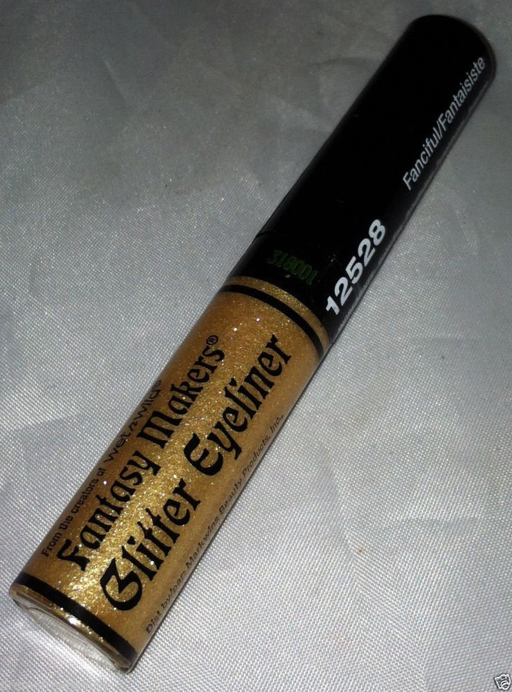 Wet n Wild Limited Ed. Fantasy Makers Glitter Liquid Eyeliner *FANCIFUL* Gold BN