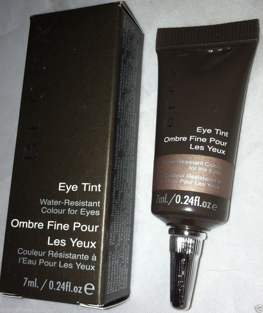 Becca Water-Resistant Eye Tint in *ROMANTICISM* Mauve Bronze Shimmery Cream BNIB