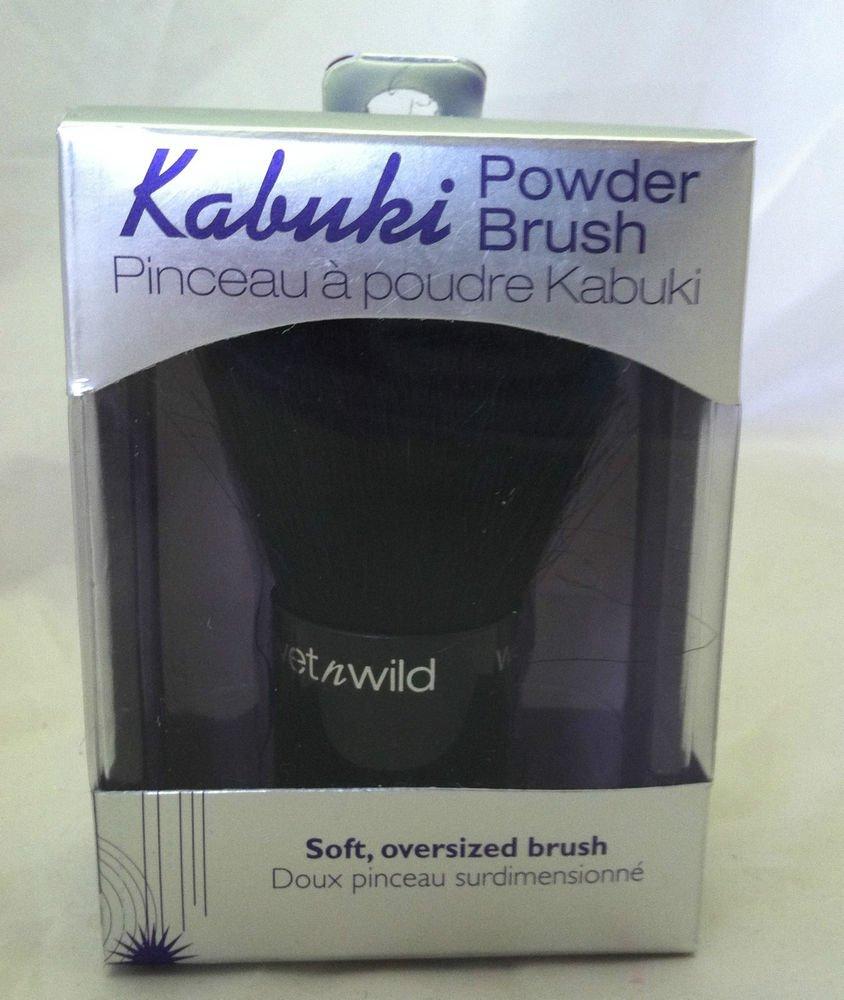 Kabuki Powder Brush Soft Oversized Wet N Wild BNIB