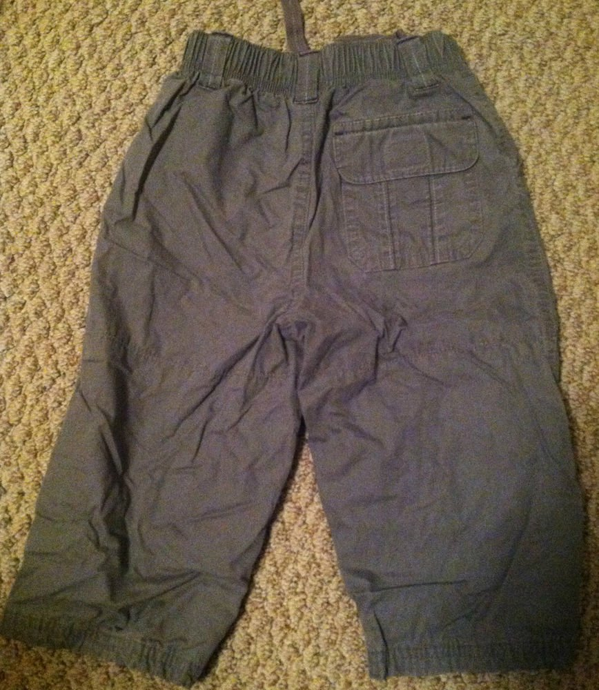 Carter's Boys/Toddlers 24 months Gray Pants Lined for warmth