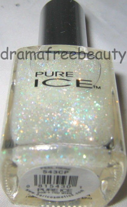 Pure Ice Layering Glitter Nail Polish *DON'T YOU WISH* Iridescent Pastel Holo BN