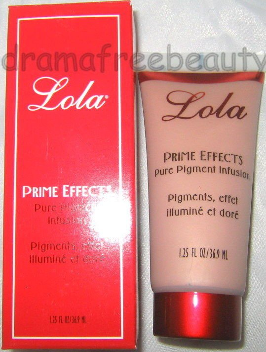 Lola PRIME EFFECTS Pure Pigment Infusion in *BRONZE* Face/Body Lotion $26+ BNIB