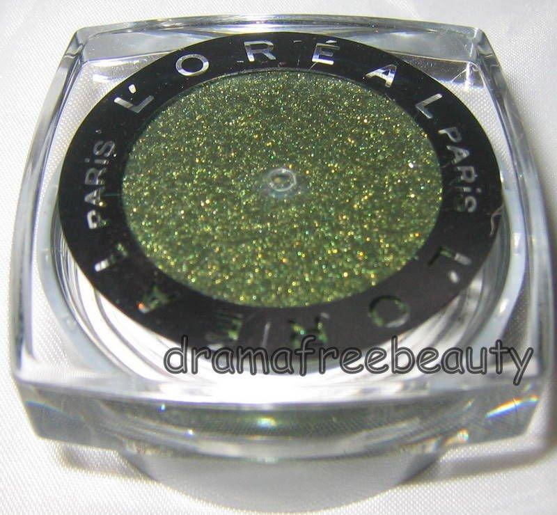 L'oreal Infallible 24HR Waterproof Cream Powder EyeShadow 335 * GOLDEN EMERALD *