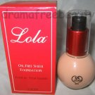 Lola Oil-Free Sheer Natural Water-Based Foundation *BISQUE* w/Vitamins $30+ BNIB
