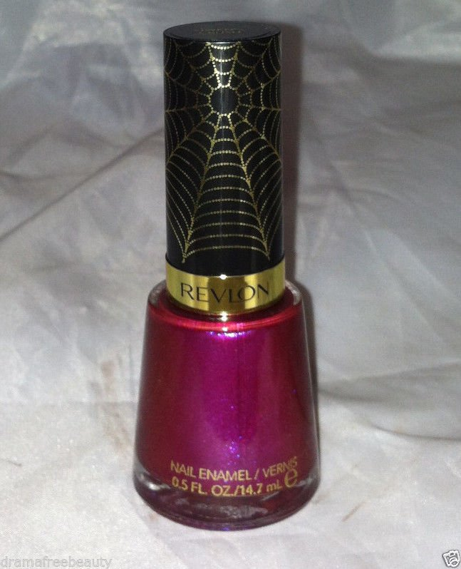 Revlon Limited Ed. SPIDER MAN 2 Electric Chrome Gold Nail Polish *GWEN'S CRUSH*