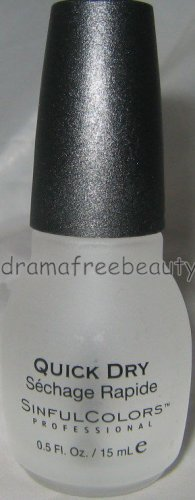 Sinful Colors Nail Polish 904 *QUICK DRY* Top Coat Brand New .5 oz/15 ml B. New