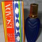 Escada Eau De Toilette * QUE VIVA ESCADA * 4ml. Deluxe Travel Mini Perfume BNIB