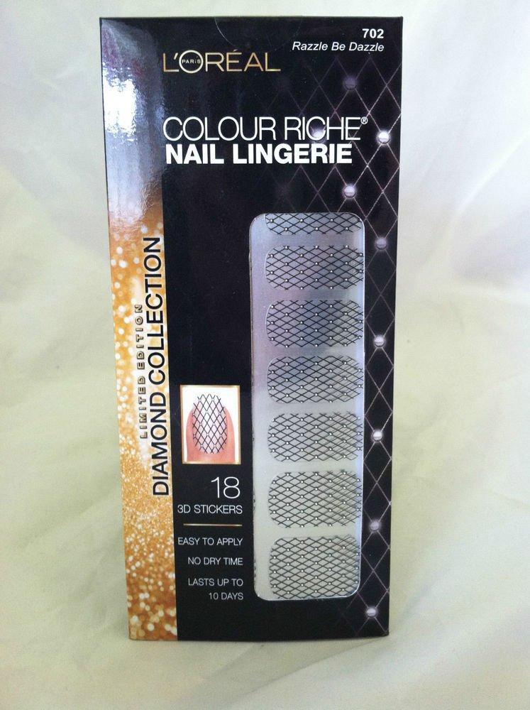 L'Oreal Colour Riche Nail Lingerie #702 Razzle Be Dazzle New Limited Edition