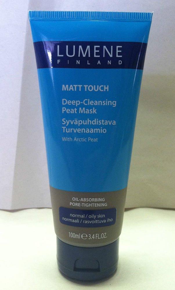 Lumene Creamy Matt Touch Deep-Cleansing Arctic Peat Mask Normal/Oily Skin NEW!