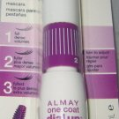 Almay ONE COAT Dial Up Volumizing Adjustable Mascara #020 *BLACK*  New & Sealed