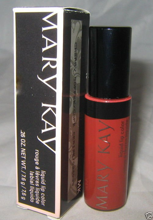 Mary Kay Liquid Lip Color *CHERRY COFFEE* .26oz/7.6g Full Size Brand New in Box
