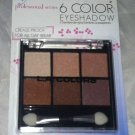 L.A. Colors 6 Color Eyeshadow Palette Set * BEP414 CAFE AU LAIT * Long Lasting