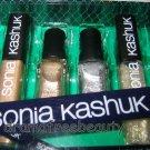 Sonia Kashuk PRECIOUS GEMS Set *SMOKE/GOLD Nail P. GLITZ Lipgloss GLAM Eyeliner*