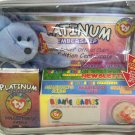 "Ty Beanie Baby Gift/Platinum Membership Set Carrying Case BNWT ""Clubby"" Included"