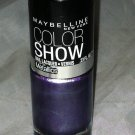 Maybelline Nail polish Color Show * 90 AMETHYST ABLAZE * Metallic Purple Shade