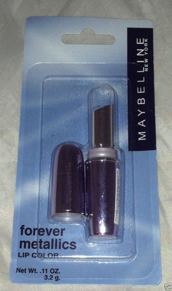 Maybelline Forever Metallics Lip Color Lipstick * ROSE BLOOM * VHTF Discontinued