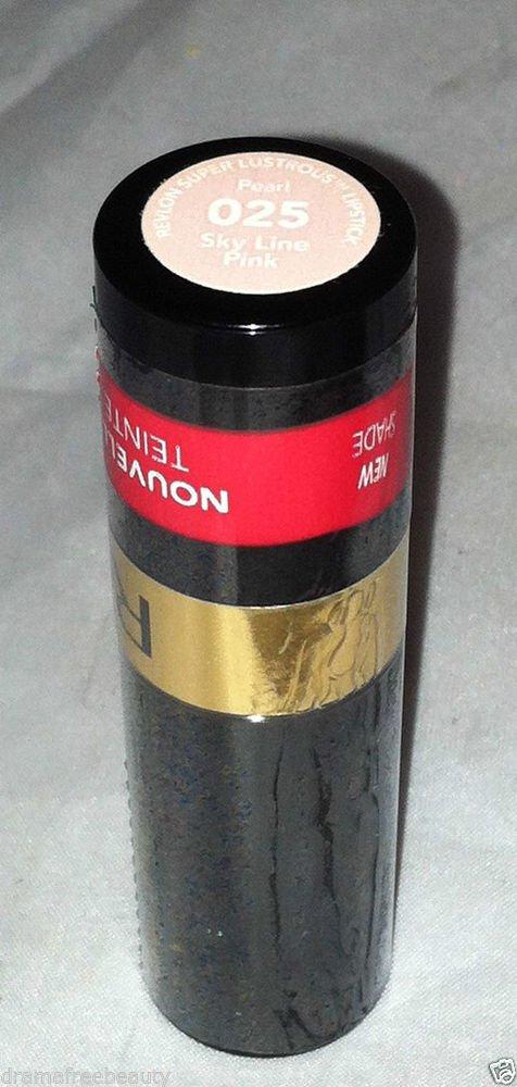 Revlon Super Lustrous Lipstick Pearl * 025 SKY LINE PINK * Sealed Brand New