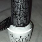 OPI Shatter Nail Polish / Lacquer * WHITE SHATTER * New Perfect For Halloween