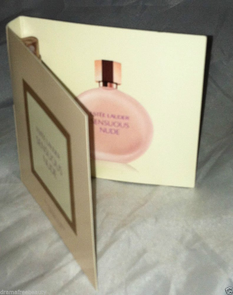 Estee Lauder * SENSUOUS NUDE * Eau De Toilette Spray 1.5mL Travel / Sample Card