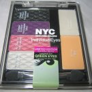 BN New York Color NYC Limited Ed IndividualEyes GREEN EYES Palette *HOT COUTURE*