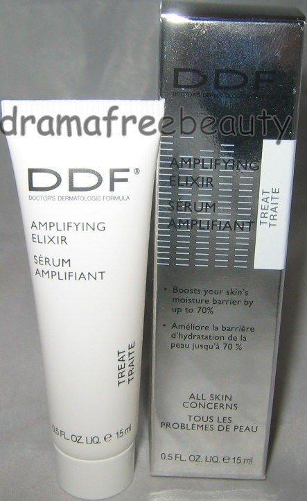 DDF Anti-Aging *AMPLIFYING ELIXIR* Skin Serum .5oz/ 15ml Deluxe Travel Mini BNIB