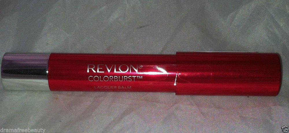 Revlon ColorBurst Lip Lacquer Balm 135 *PROVOCATEUR* Bright Cherry Red BN/Sealed