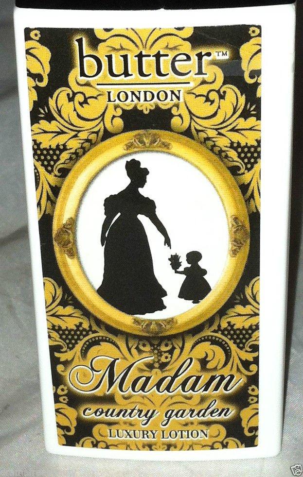 Butter London Madam Body Lotion * COUNTRY GARDEN * Paraben Free/Vegan  Brand New